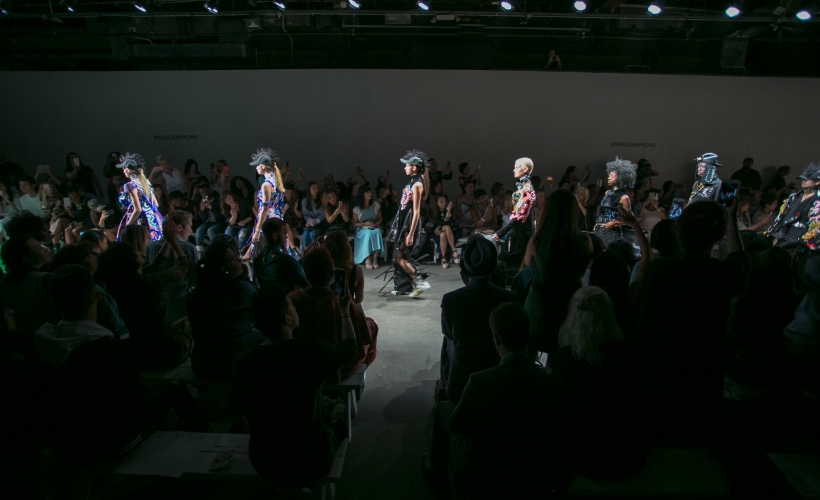 Just in Case Spring/Summer 2017 on the Nolcha Shows Runway