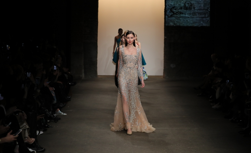 Son Collection walk the Nolcha Shows Fall Winter 2017 runway during New  York Fashion Week 6fe0d812cd046